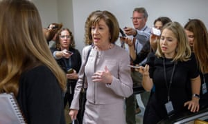 Susan Collins said she would vote to confirm Kavanaugh.