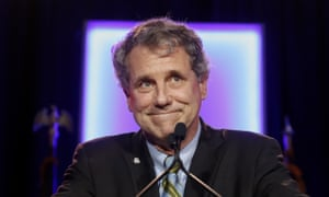 Sherrod Brown has just kicked off his multi-state tour of states that cast pivotal early votes in the 2020 presidential primary. (AP Photo/John Minchillo, File)