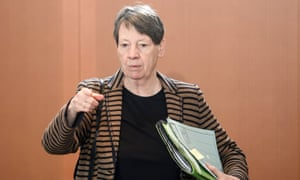 Environment minister Barbara Hendricks.