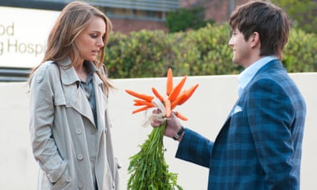'It's hard to complain, but the disparity is crazy' … Natalie Portman and Ashton Kutcher in No Strings Attached.