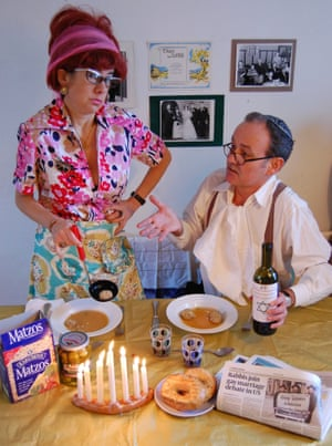 Happy Hanukkah from Sylvie and Lionel (2009) by Lisa Wolfe and Peter Chrisp.