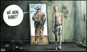 20 years in Afghanistan.