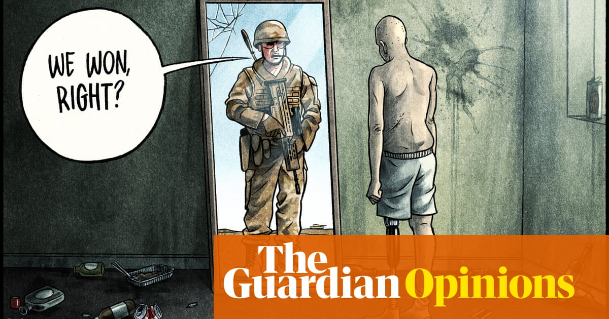 Ben Jennings on doubts over the 20-year war in Afghanistan – cartoon
