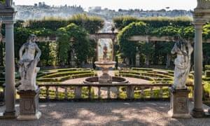 A view from Villa La Pietra.