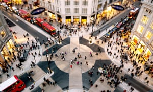 The diagonal pedestrian crossings at Oxford Circus, installed in 2009, still confuse tourists.