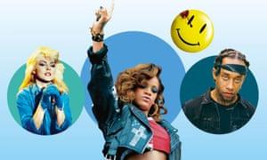The vinyl straw... Blondie; Rihanna; Ty Dolla $ign.