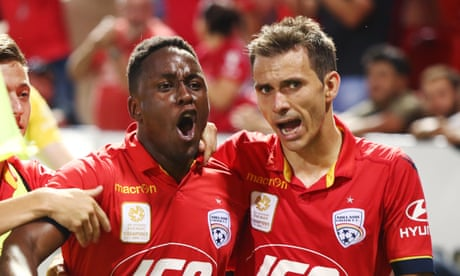 Adelaide United stun Melbourne City after late Mark Ochieng winner