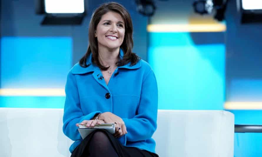 Former UN Ambassador Nikki Haley.