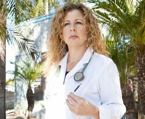 Bonni Goldstein, one of the most prominent doctors advocating for medical cannabis and promoting education around the endocannabinoid system, in front of her CannaLabs medical facilities.