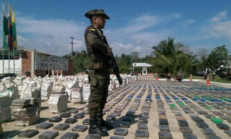 Colombian officials claim biggest cocaine bust in country's history