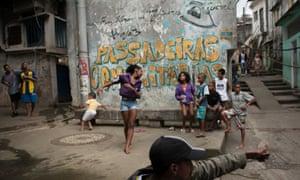 inside favela rio