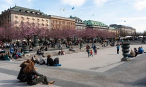 'The most important park in Sweden' … Stockholm's Kungsträdgården, site of a proposed new flagship store for Apple.