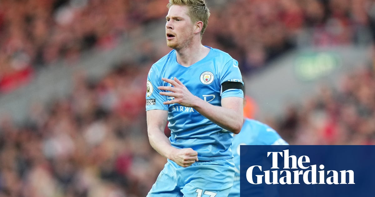 De Bruyne strikes after Salah stunner as Liverpool and Manchester City draw