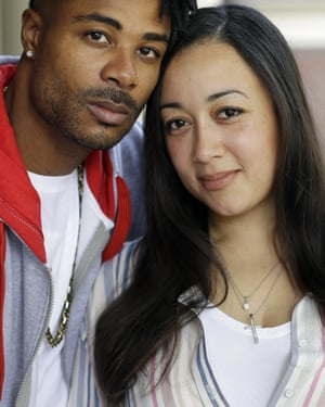 Cyntoia and her husband, rap artist Jamie Long.