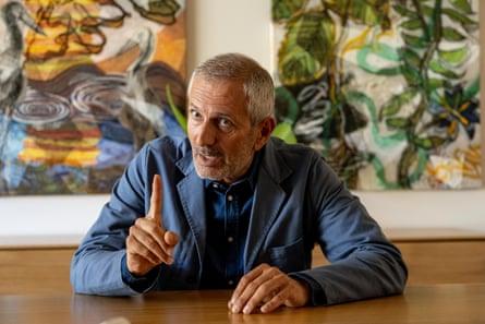 Gianrico Carofiglio at the Byron writers festival this month.