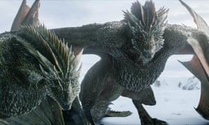 'It felt like HBO flashing the budget' ... Game of Thrones's dragon duo.