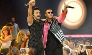 Despacito hitmakers Luis Fonzi and Daddy Yankee
