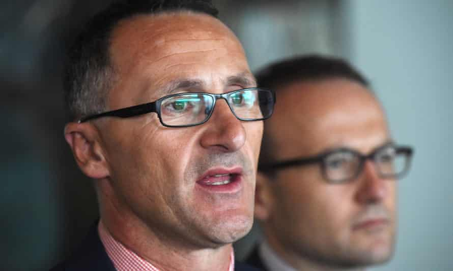 The Greens leader, Richard Di Natale, and the  member for Melbourne, Adam Bandt