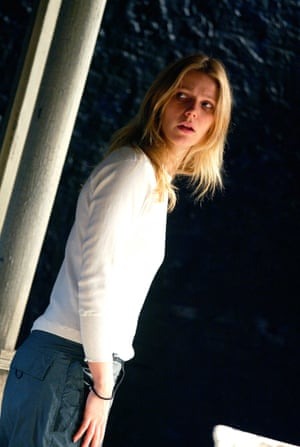 Gwyneth Paltrow in Proof at the Donmar Warehouse in 2002