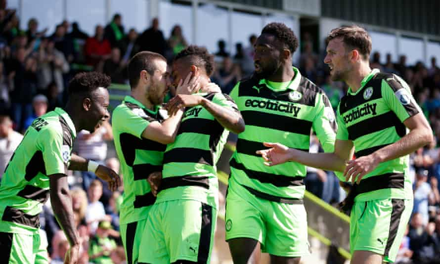A 3-1 aggregate win over Dagenham and Redbridge in the semi-finals brought Forest Green a second Wembley visit in as many years.