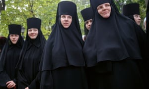 Ukranian Orthodox nuns