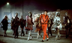It's close to midnight … Michael Jackson in the Thriller video.