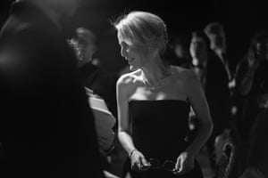 Gillian Anderson, star of the Netflix show Sex Education