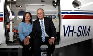 Scott Morrison and his wife Jenny Morrison