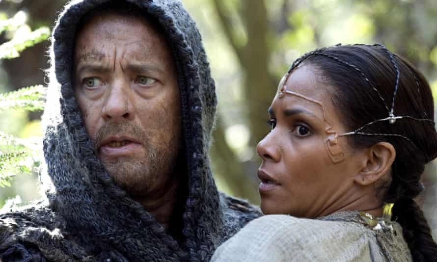 Tom Hanks and Halle Berry in the 2012 film adaptation of Cloud Atlas.