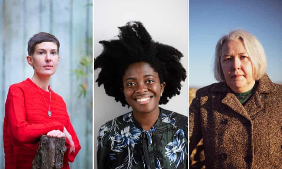 From left, Patricia Lockwood, Yaa Gyasi and Susanna Clarke.