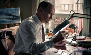 Mark Rylance in Steven Spielberg's Bridge of Spies.