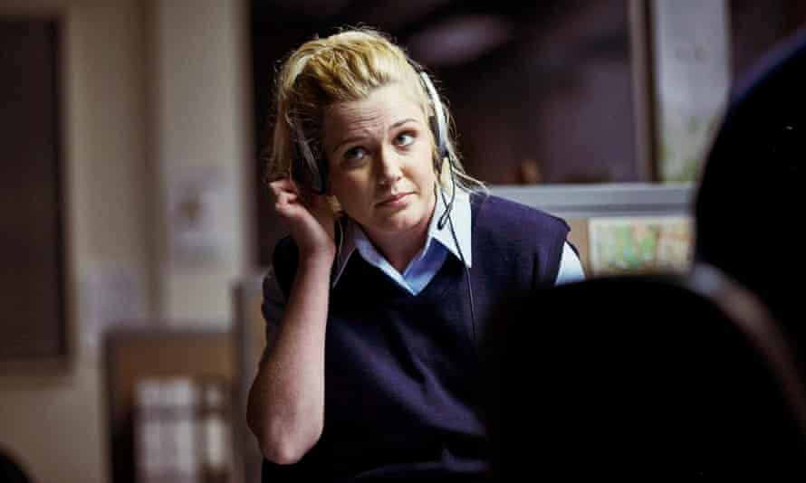April (Harriet Dyer), subject of an overhead conversation between Hendy and Stokes.