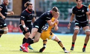 Owen Farrell tackle on Charlie Atkinson