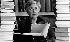 A profound sense of horror … Agatha Christie.