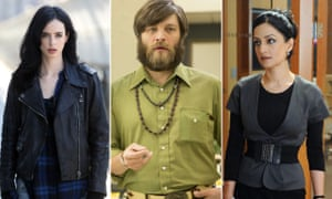 Jessica Jones, Jessica Jones; Stan Rizzo, Mad Men; and Kalinda Sharma, The Good Wife.