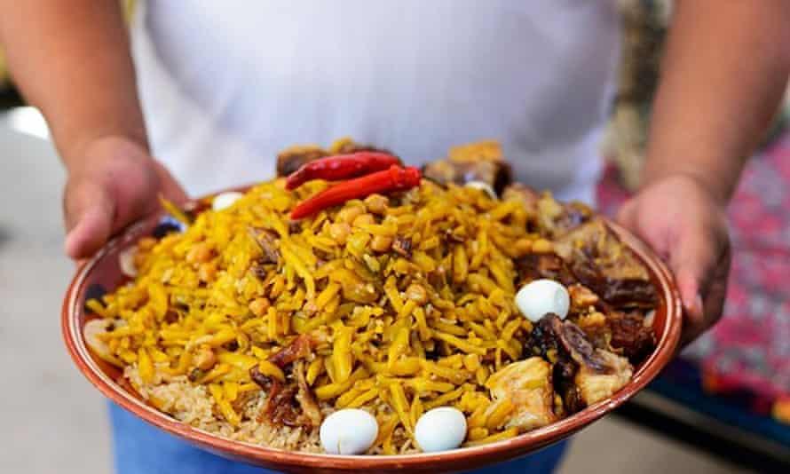 Uzbek Plov - The national dish of Uzbekistan