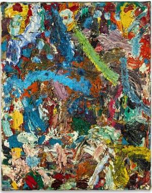 Pyxides un Bucchero, 1981, Gillian Ayres