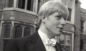 Boris Johnson, pictured at Oxford