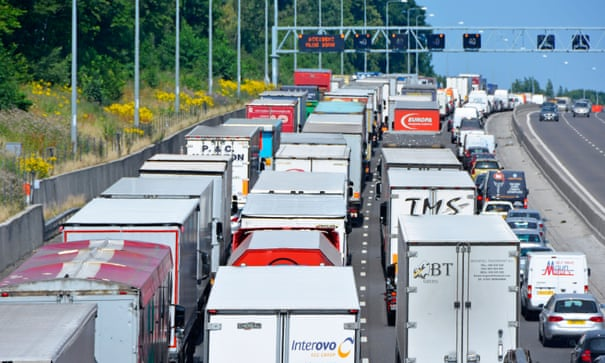 A mirror vision of industrial failure – the UK lorry trade | Polly