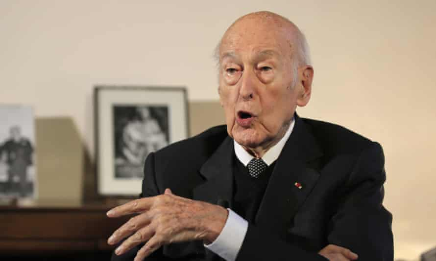 Valéry Giscard d'Estaing in January 2020.