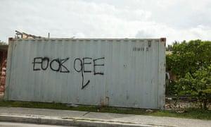 Nauru graffiti