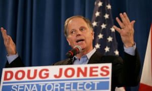 Democrat Doug Jones, who won the special US Senate election in Alabama.