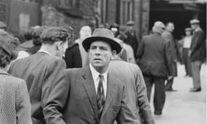 Norman Wisdom during the filming of There was a Crooked Man, June 1960.