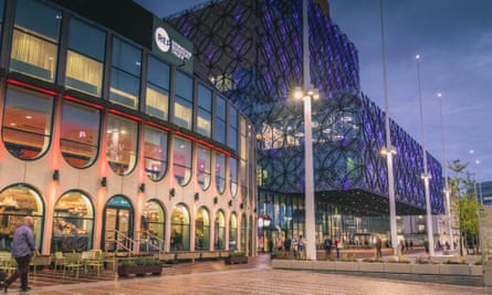 Birmingham Rep reopened in 2013 after a major period of redevelopment.