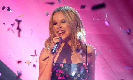 'Children in Need is loved by everyone' … Kylie Minogue performing on The Graham Norton Show this month.