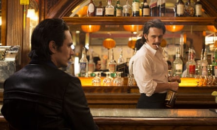 James Franco as twin brothers Frankie and Vincent Martino in The Deuce.