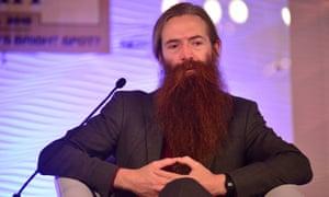 Gerontologist Aubrey de Grey