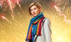 Jodie Whittaker as Doctor Who.