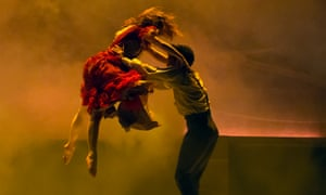 Nuance … Victoria Sibson and Javier Torres in Jane Eyre.