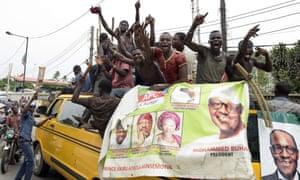 Supporters of Muhammadu Buhari